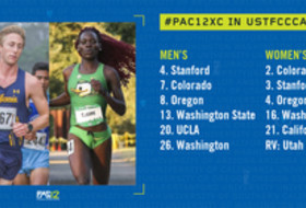 Pac-12 Cross Country rankings 9-11-18