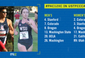 Pac-12 cross country USTFCCCA poll 9-18-18