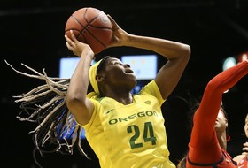 2019 Pac-12 Women's Basketball Tournament: No. 1 Oregon defeats No. 8 Arizona to advance to semifinal round
