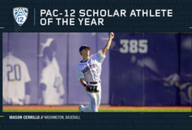 Washington's Cerrillo named 2019 pac-12 baseball Scholar-Athlete of the Year