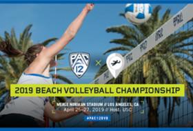 2019 Pac-12 Beach Volleyball Championship