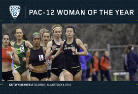 Colorado's Kaitlyn Benner is Pac-12 Woman of the Year.