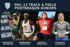 2019 Pac-12 Track & Field postseason awards