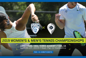 Brackets set for 2019 Pac-12 Tennis Championships