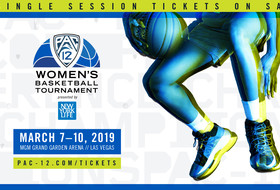 Single-session tickets go on sale tomorrow for 2019 Pac-12 Women's Basketball Tournament