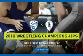 Arizona State hosts 2019 Pac-12 Wrestling Championships