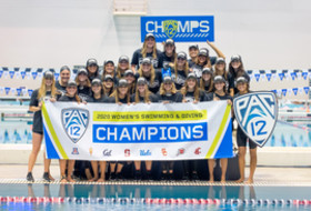 Stanford women's swimming and diving wins fourth-consecutive Pac-12 Championship