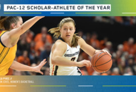 Oregon State's Pivec Named Pac-12 Women's Basketball Scholar-Athlete of the Year