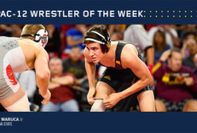 Pac-12 Wrestler of the Week - February 8