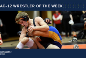 Pac-12 Wrestler of the Week
