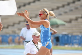 UCLA's Tatum Souza at Pac-12 Track and Field Championships Multis