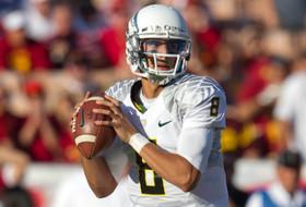 Oregon's Marcus Mariota talks offensive outlook