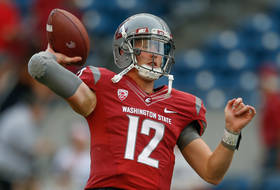 "<p>The Cougars <a href=""http://pac-12.com/videos/highlights-washington-state-suffers-tough-loss-rutgers"" target=""_blank"">couldn't hold a late lead</a> in another heartbreaking loss Thursday, this one 41-38 to Rutgers. Quarterback Connor Halliday, though, did <a href=""http://pac-12.com/article/2014/08/28/connor-halliday-lights-scoreboard-loss"" target=""_blank"">light up the scoreboard</a> to the tune of 532 passing yards and five touchdowns. <a href=""http://pac-12.com/football/event/2014/09/05/washington-state-nevada"">The Cougs visit Reno <span data-term=""goog_344286030"" tabindex=""0"">on Friday</span> night to take on Nevada.</a></p>"