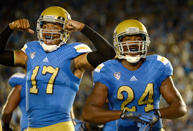 "<p>Brent Hundley threw for 396 yards and three touchdowns as the <a href=""http://pac-12.com/videos/highlights-ucla-football-survives-test-memphis"" target=""_blank"">Bruins survived a pesky Memphis Tigers</a> team <span data-term=""goog_1168131772"" tabindex=""0"">Saturday</span>. <span style=""line-height: 1.6em;"">It came on a night where <a href=""http://pac-12.com/videos/postgame-interview-uclas-brett-hundley-reflects-career-night"">he </a></span><a href=""http://pac-12.com/videos/postgame-interview-uclas-brett-hundley-reflects-career-night"" style=""line-height: 1.6em;"" target=""_blank"">completed a career high 33</a><span style=""line-height: 1.6em;""><a href=""http://pac-12.com/videos/postgame-interview-uclas-brett-hundley-reflects-career-night""> passes</a>, only fueling the Heisman talk. </span><a href=""http://pac-12.com/videos/postgame-interview-ucla-head-coach-jim-mora-talks-consistency"" style=""line-height: 1.6em;"" target=""_blank"">Jim Mora spoke about finding consistency</a><span style=""line-height: 1.6em;""> after his team's first two weeks with the conference schedule looming. </span><a href=""http://pac-12.com/football/event/2014/09/13/ucla-vs-texas"" style=""line-height: 1.6em;"" target=""_blank"">UCLA travels to take on a fired up Texas</a><span style=""line-height: 1.6em;""> squad </span><span data-term=""goog_1168131773"" style=""line-height: 1.6em;"" tabindex=""0"">next Saturday</span><span style=""line-height: 1.6em;"">.</span></p>"