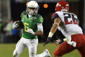 Oregon rolls past Arizona in 2014 Pac-12 Football Championship Game