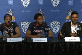 Coach Niya Butts praises Arizona program after advancing in 2016 Pac-12 Women's Basketball Tournament