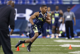 NFL combine day 2: Brandin Cooks turns up the heat, running backs take center stage