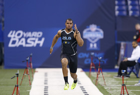 NFL combine day 3: Defensive linemen, linebackers hit the track