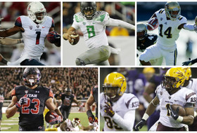 Five Pac-12 teams ranked in latest AP top 25; Oregon at No. 5