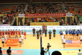 Pac-12 Volleyball Al-Stars vs. Chinese Junior National Team