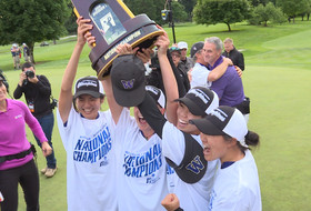 NCAA Women's Golf Championships: Washington claims first national title in dramatic fashion