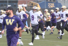 Washington Huskies turn in spirited Wednesday morning practice in Atlanta