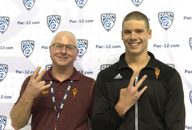 2017 Pac-12 Swimming (M) Championships: ASU's Cameron Craig has promising start with guidance from coach Bowman