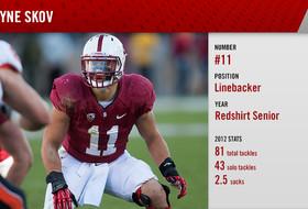 See you at football media day: Stanford's Shayne Skov