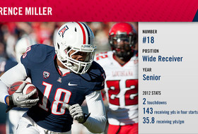 See you at football media day: Arizona's Terrence Miller