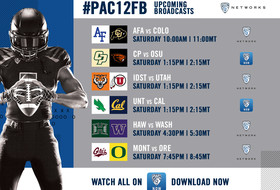 Action-packed Saturday features six football games across Pac-12 Networks