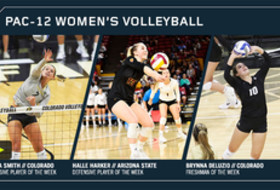 Pac-12 Women's Volleyball Players of the Week