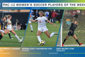 Pac-12 announces women's soccer players of the week