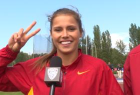 USC's Amalie Iuel posts personal heptathlon best, wins Pac-12 title
