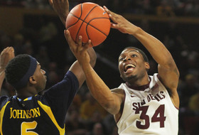 Arizona State's Marshall voted Pac-12 men's basketball Player of the Week