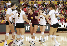 <p>Arizona State women's volleyball team</p>