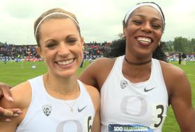 Oregon's Raevyn Rogers, Annie Leblanc capture top spots in 800M