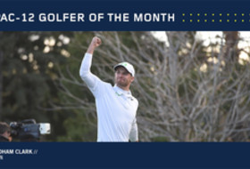 Oregon's Clark named Pac-12 Men's Golfer of the Month