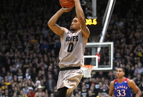 <p>Colorado men's basketball Askia Booker</p>