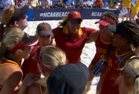 NCAA Beach Volleyball Championships: USC on to finals, UCLA eliminated