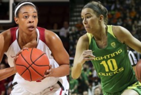 2017 Pac-12 Women's Basketball Semifinal preview: Oregon vs. Stanford