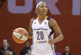 Former ASU women's basketball player Briann January is a member of the WNBA's Indiana Fever