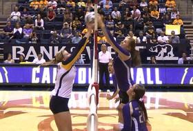 <p>California women's volleyball Maddy Kerr</p>