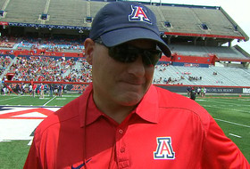 Video: Arizona's Rich Rodriguez talks about the Wildcats quarterback competition