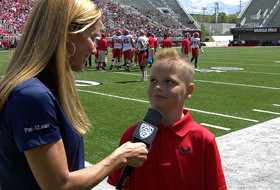 Video: Utah football's honorary coaches provide spring game inspiration