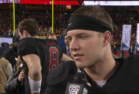 Stanford's Christian McCaffrey on record-breaking night: 'Couldn't do it without my teammates'