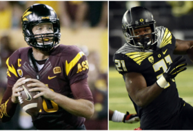 College Football Playoff top 25: Oregon jumps into top 4, ASU is No. 9