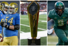 College Football Playoff top 25: Oregon is 2nd, UCLA is 8th