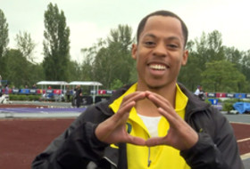 Oregon's Cambers on winning men's 400m dash: 'That's why I came to the University of Oregon'