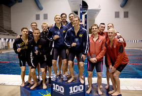 Cal grabs school's first Pac-12 800-yard freestyle relay title in 24 years