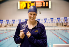 Cal's Missy Franklin sets Pac-12 Championships 500 freestyle record